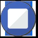 Иконка остановки миссии Nanopix