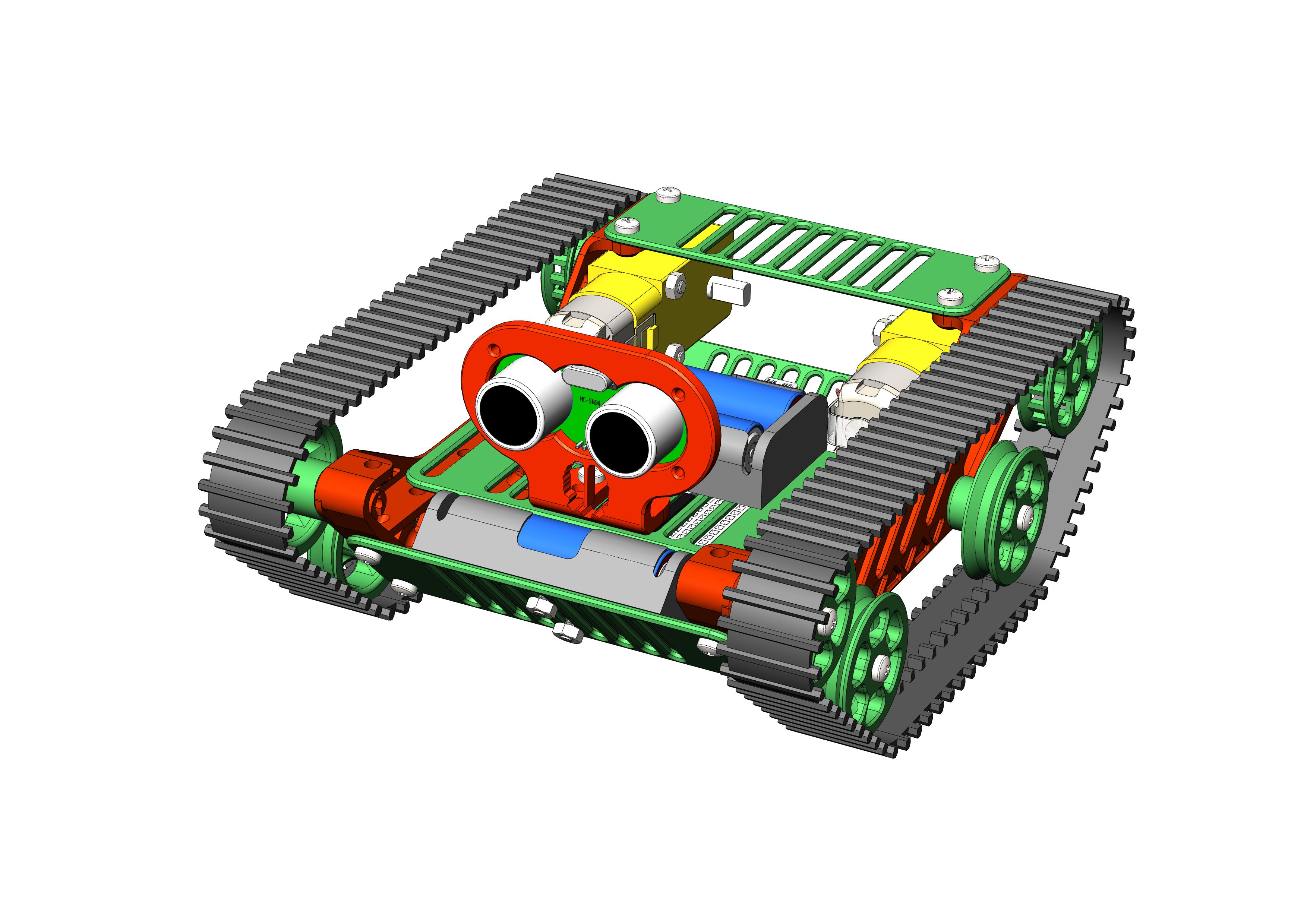 Робототехнический конструктор <b>Танк</b>