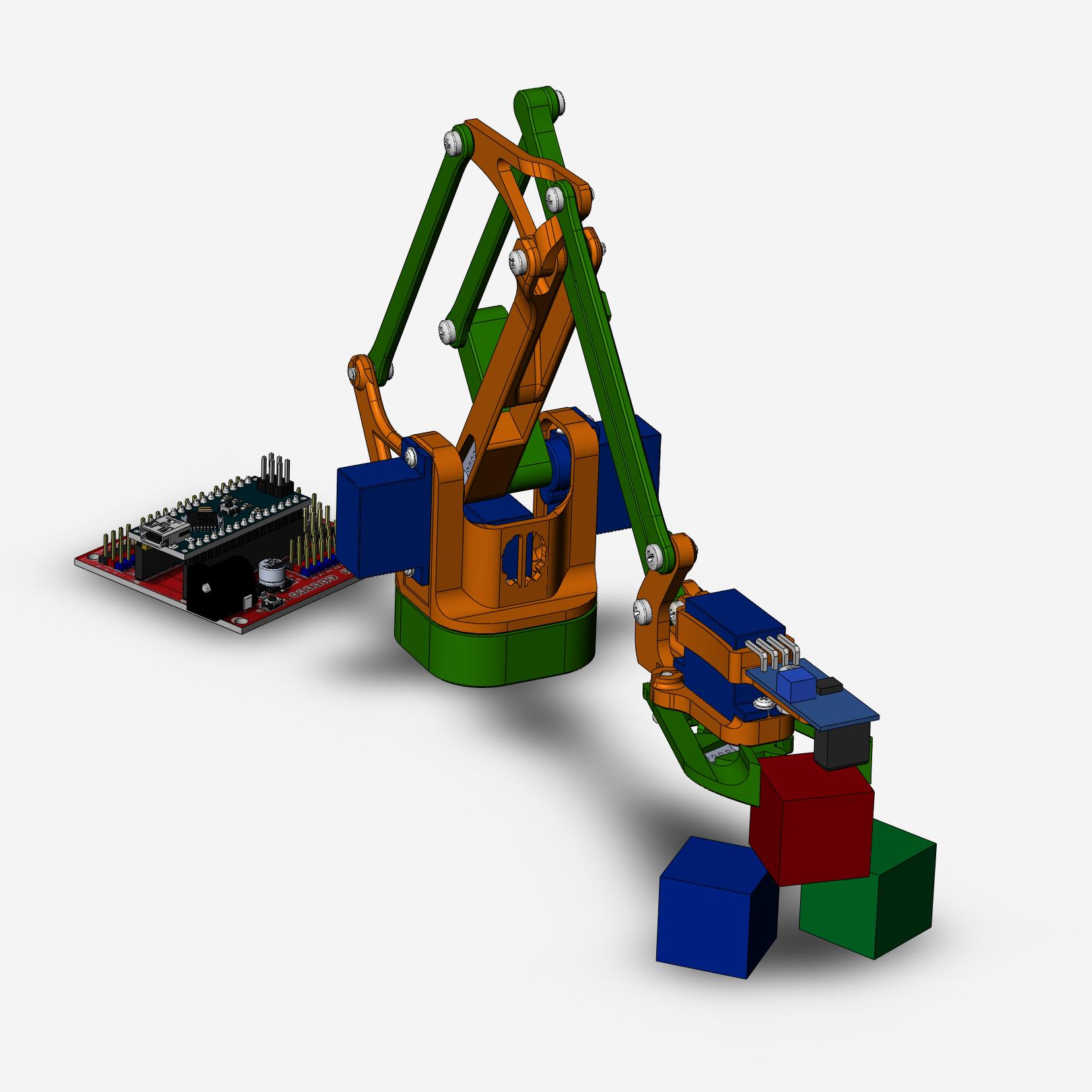 Робототехнический конструктор <b>Роборука</b>