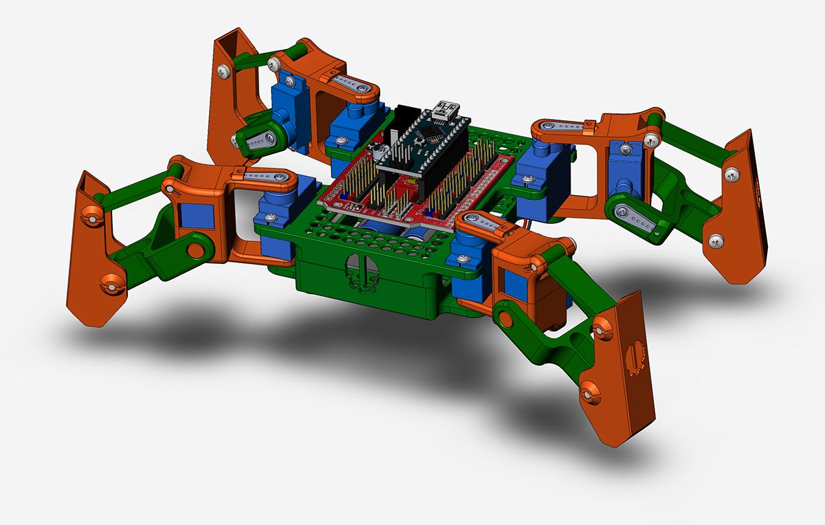 Робототехнический конструктор <b>Паук</b>