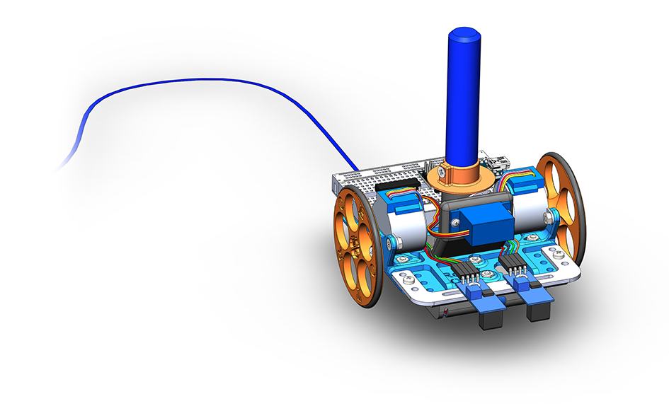 Робототехнический конструктор <b>Рисовальщик</b>