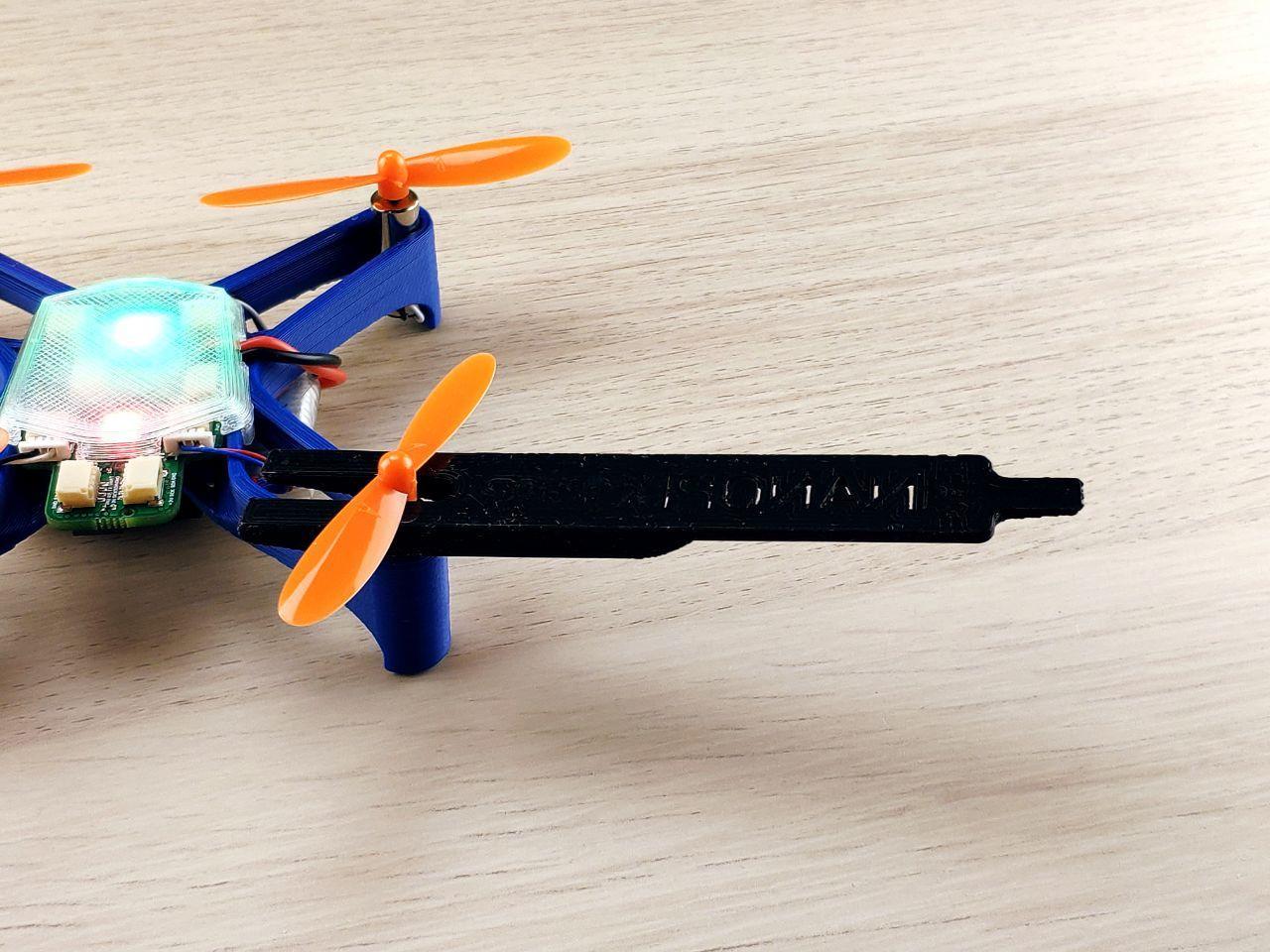 Всё необходимое для сборки дрона в комплекте