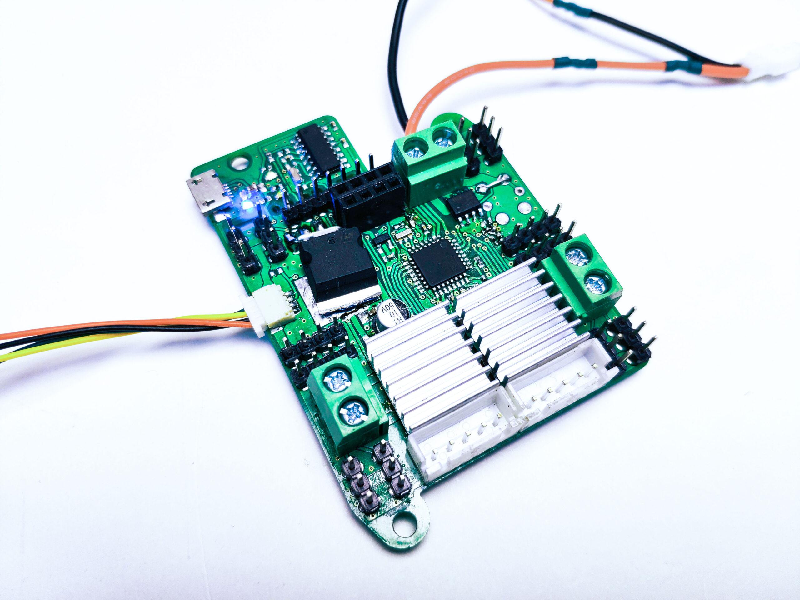 Модуль расширения для управления наземными роботами